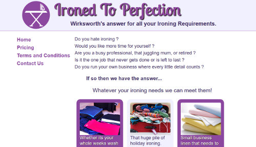 Ironed To Perfection - Wirksworth